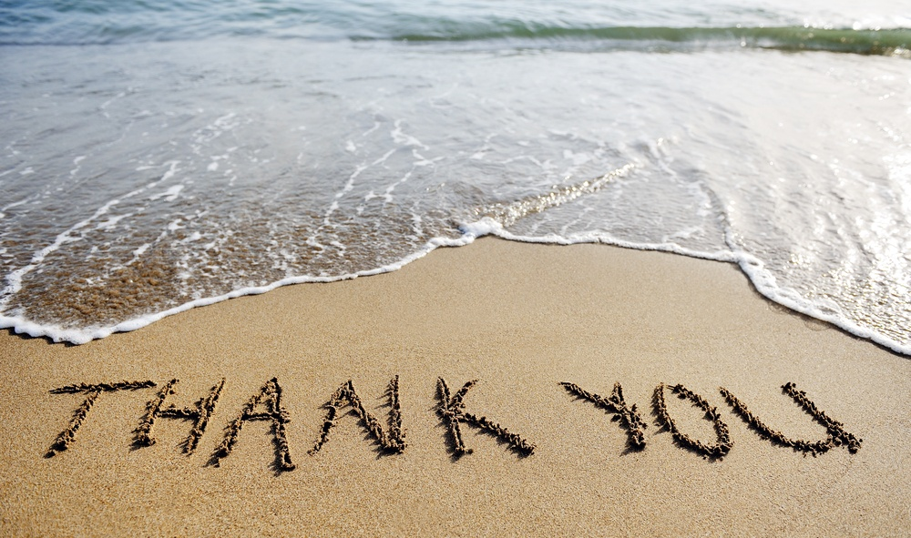The value of the Thank You page