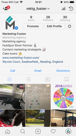 Getting started with Instagram for Business